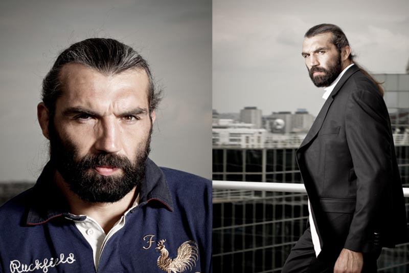 Sébastien Chabal by Thomas Vollaire Photographe
